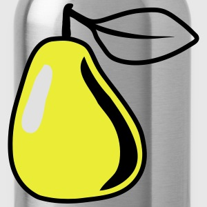 PEAR fruit bio healthy T-Shirts - Water Bottle