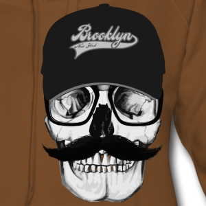 Skull Brooklyn Tee shirts - Sweat-shirt à capuche Premium pour femmes