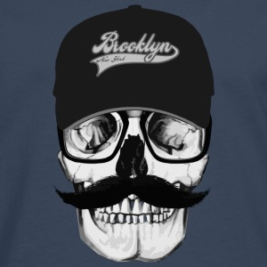 Skull Brooklyn Tee shirts - T-shirt manches longues Premium Homme