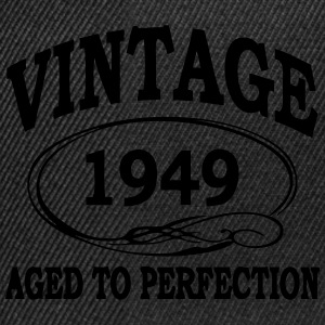Vintage 1949 Aged To Perfection T-Shirts - Snapback Cap