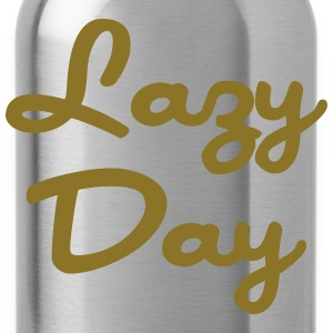 Lazy Day T-Shirts - Water Bottle