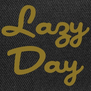 Lazy Day T-shirts - Snapback cap