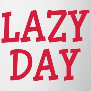Lazy Day Camisetas - Taza