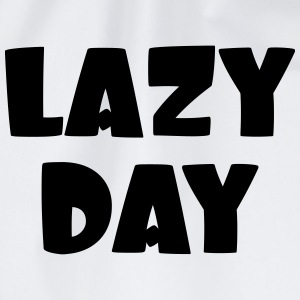 Lazy Day Shirts - Drawstring Bag