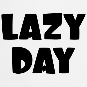 Lazy Day Shirts - Cooking Apron