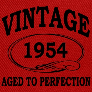 Vintage 1952 Aged To Perfection T-Shirts - Snapback Cap