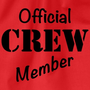Official Crew Member T-shirts - Gymnastikpåse