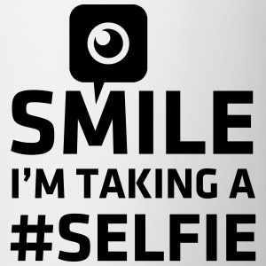 Love taking Selfie photo camera instagram smile Magliette - Tazza