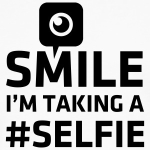 Love taking Selfie photo camera instagram smile Tee shirts - T-shirt manches longues Premium Homme