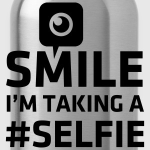 Love taking Selfie photo camera instagram smile Sudaderas - Cantimplora