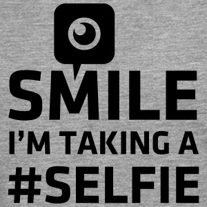 Love taking Selfie photo camera instagram smile Sweat-shirts - T-shirt manches longues Premium Homme