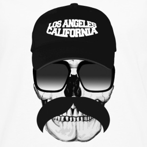 Skull California Badges - T-shirt manches longues Premium Homme