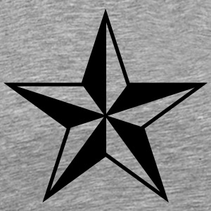 Nautical star protection guidance good luck symbol Long sleeve shirts - Men's Premium T-Shirt
