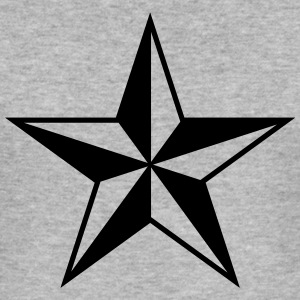 Nautical star protection guidance good luck symbol Hoodies & Sweatshirts - Men's Slim Fit T-Shirt