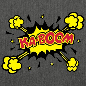 KABOOM, comic speech bubble, cartoon, word balloon Hoodies & Sweatshirts - Shoulder Bag made from recycled material