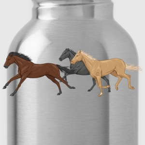 Three Horses T-Shirts - Water Bottle