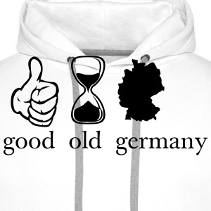 good old germany Deutschland T-skjorter - Premium hettegenser for menn