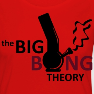 the big bong theory Tee shirts - T-shirt manches longues Premium Femme