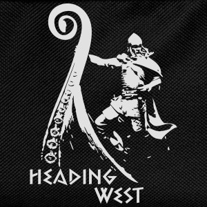 Heading West - Viking Raid T-Shirts - Kinder Rucksack