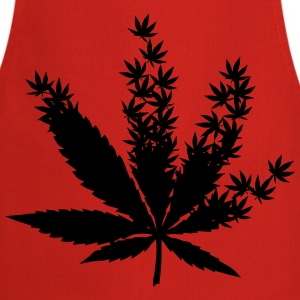 Cannabis from cannabis leaves  T-Shirts - Cooking Apron