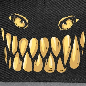 smile with your monsterface  T-Shirts - Snapback Cap
