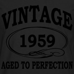 Vintage 1959 Aged To Perfection Hoodies & Sweatshirts - Men's Premium Longsleeve Shirt