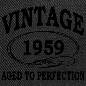 Vintage 1959 Aged To Perfection T-Shirts - Snapback Cap