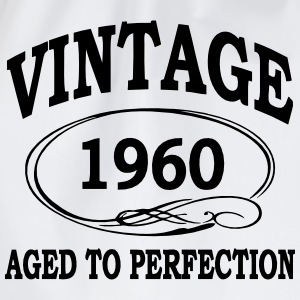 Vintage 1960 Aged To Perfection Long Sleeve Shirts - Drawstring Bag