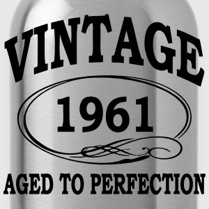 Vintage 1961 Aged To Perfection Hoodies & Sweatshirts - Water Bottle