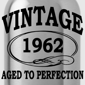 Vintage 1962 Aged To Perfection T-Shirts - Water Bottle