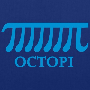 Math Pi Octopi Joke Nerdy Geek Mathematics Science - Stoffbeutel