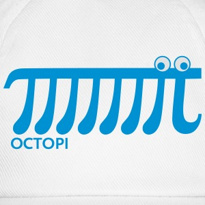 Math Pi Octopi Nerd Geek Joke Mathematics Teacher Sweatshirts - Baseballkasket