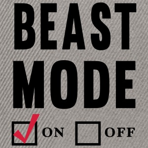 Beast Mode On T-Shirts - Snapback Cap
