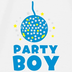 Party boy with disco ball  Accessories - Men's Premium T-Shirt