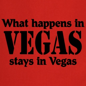 What happens in Vegas, stays in Vegas T-shirts - Forklæde