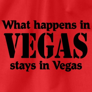 What happens in Vegas, stays in Vegas T-shirts - Sportstaske