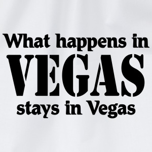 What happens in Vegas, stays in Vegas T-Shirts - Turnbeutel