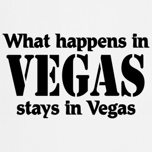 What happens in Vegas, stays in Vegas Maglie a manica lunga - Grembiule da cucina