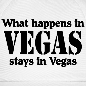 What happens in Vegas, stays in Vegas Long sleeve shirts - Baseball Cap