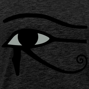 Eye of Horus Tröjor - Premium-T-shirt herr