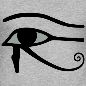Eye of Horus Gensere - Slim Fit T-skjorte for menn