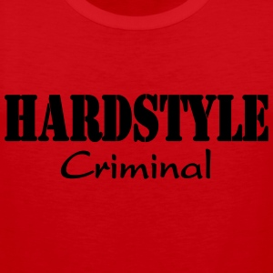 Hardstyle Criminal T-Shirts - Men's Premium Tank Top