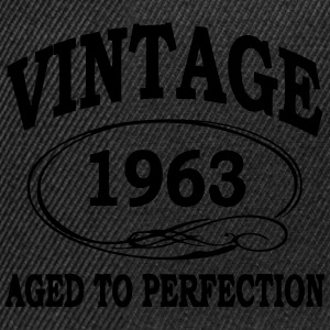 Vintage 1963 Aged To Perfection T-Shirts - Snapback Cap