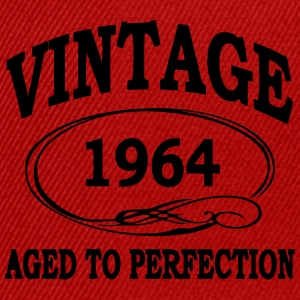 Vintage 1964 Aged To Perfection T-Shirts - Snapback Cap