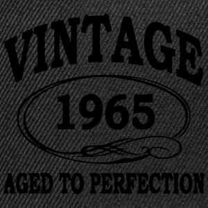Vintage 1965 Aged To Perfection T-Shirts - Snapback Cap