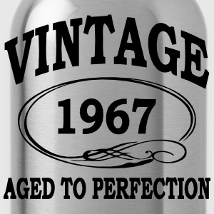 Vintage 1967 Aged To Perfection T-Shirts - Water Bottle