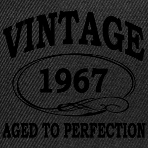 Vintage 1967 Aged To Perfection Hoodies & Sweatshirts - Snapback Cap
