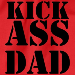 Kick ass Dad T-shirts - Gymnastikpåse