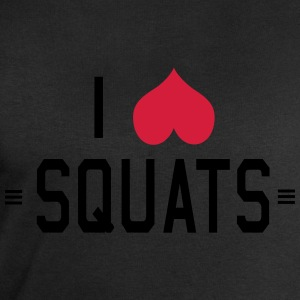 I Love Squats T-Shirts - Men's Sweatshirt by Stanley & Stella