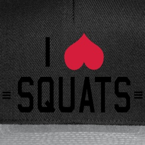 I Love Squats T-Shirts - Snapback Cap